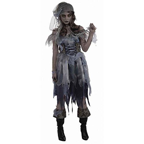 Bristol Novelty AC617 Zombie Pirat Kostüm für Damen