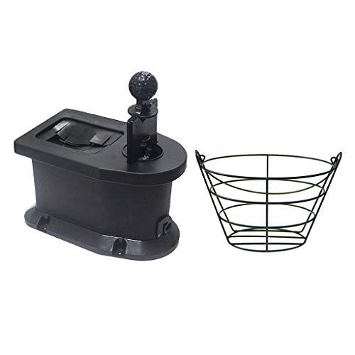 B Baosity Golfball Club Waschmaschine & Metall 30 Ball Korbhalter Container Shaft Care Kit