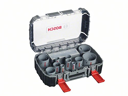 Bosch Professional 17tlg. Lochsägen-Set HSS Bimetall für Standardadapter