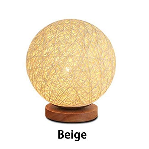 RAQ Led-bureaulamp, 220 V, stekker, nachtlampje, dimbare bedlamp, slaapkamer, decoratie, bureaulamp, creatief cadeau geel