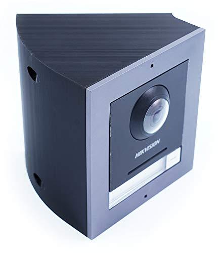 Caja de ángulo de 45° para videoportero Hikvision 1 módulo
