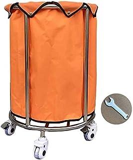Panier à linge à roulettes avec sac amovible