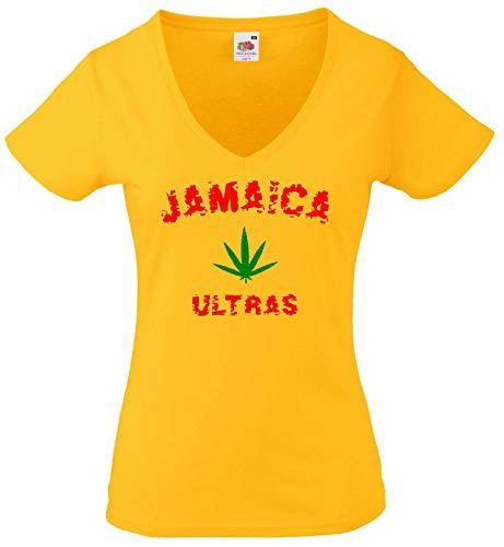 World of Shirt Damen T-Shirt Jamaica Reggae Ultras