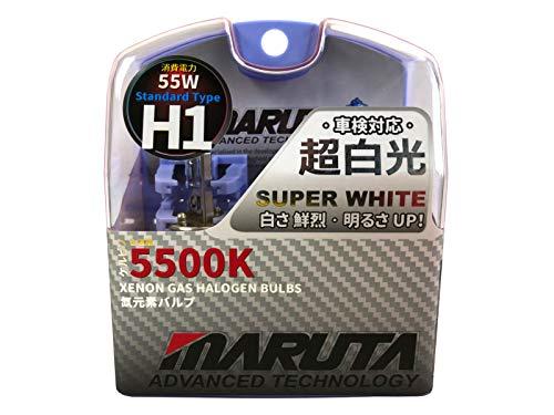 MARUTA | MTEC H1 55W SUPER WHITE MT-437-5500K Lámparas halógenas de gas xenón - Marca ECE
