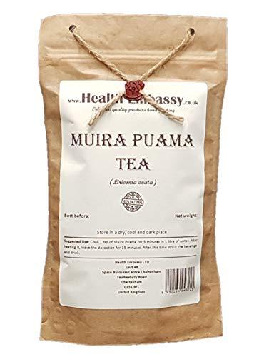 Muira Puama Tee (Liriosma Ovata / Ptychopetalum) - Health Embassy - 100% Natural (50g)