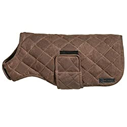 KEEPS YOUR DOG WARM ON CHILLY DAYS – Our Dog Coat is made to keep your dog warm on chilly days. Our dog winter jacket has is lightly filled with bonded cotton on the interior, which lightly insulates and will keep even short haired dogs warm on chill...
