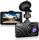 Dash Cam for Cars 1080P Claoner Full HD Dashcam Dashboard Car Camera 3