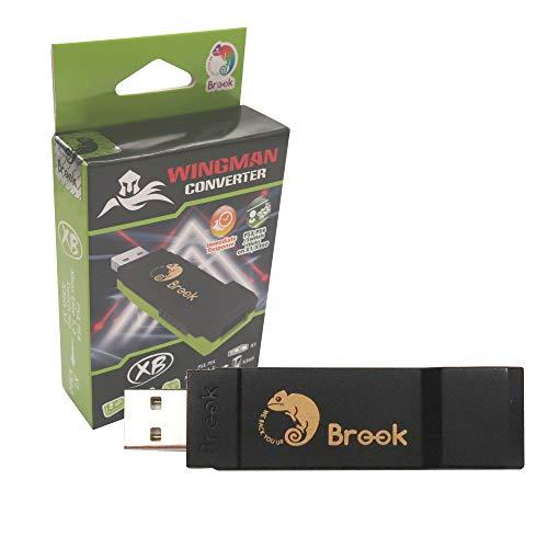 Mcbazel Brook Wingman XB Converter per Xbox One / Elite 1 & 2 / Xbox 360 / PS4 / PS3 / Switch Pro Controller per Xbox One / Xbox 360 Console Adattatori per Giochi