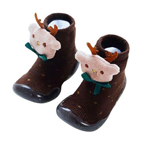Fascigirl Chaussons Prewalker Chaussures Noël Chaussures Antidérapantes Père Noël Décor