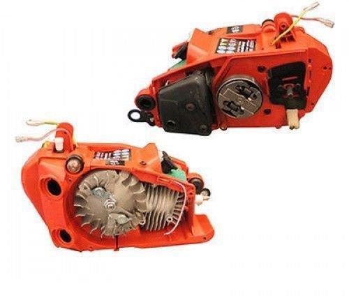 Expertshop Motore per Motosega a Scoppio 25 CC Completo di Serbatoio Come da Foto