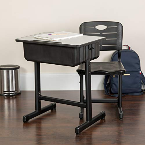 Flash Furniture Adjustable Height Student Desk & Chair