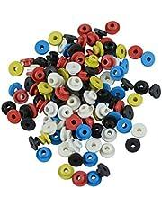 HEALLILY Tattoo Needle Grommets Silicone Tattoo Nipples Tattoo Needle Pads para Tattoo Machine 100Pcs