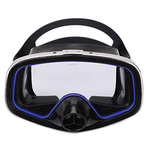 Germerse Gafas de natación antivaho, Gafas de Buceo antivaho, Media mascarilla portátil para bucear con esnórquel