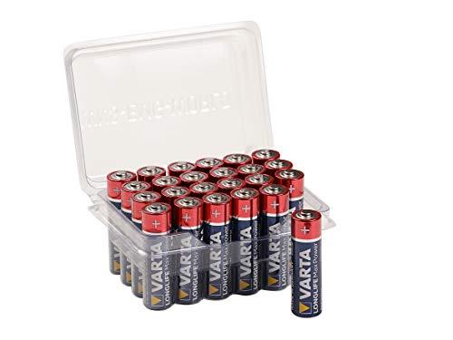 24x VARTA Longlife Max Power Batterie AA Mignon Alkaline Batterien LR6