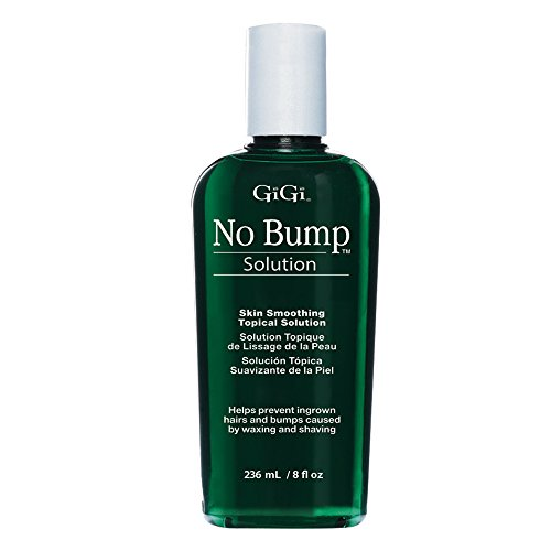 GiGi No Bump Skin Smoothing Topical Solution for after shaving, waxing or laser hair removal treatment 8 oz