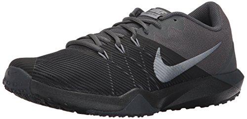 Nike Retaliation TR, Scarpe da Fitness Uomo, Nero (Black/Mtlc Cool Grey/Anthracite 001), 46 EU