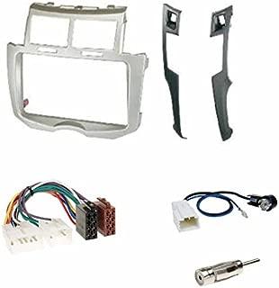 Antenne Stecker Einbauset f/ür Mercedes S-Klasse ISO Radio Adapterkabel W220 Einbauset: Autoradio DOPPEL-DIN 2-DIN Radio Blende Einbaurahmen Radioblende Halterung HOLZOPTIK 10//1998-08//2005