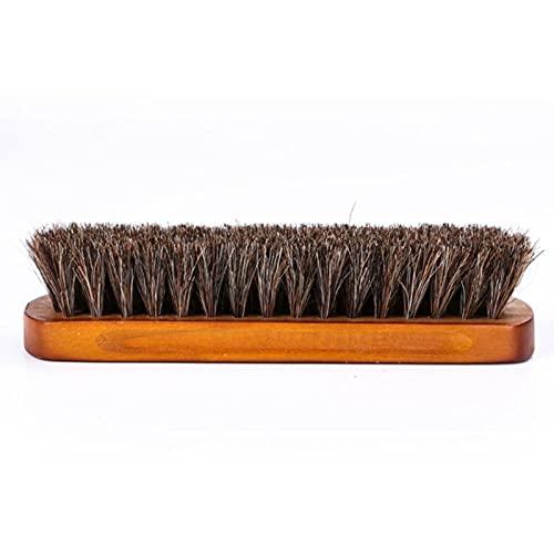 Bürste Rosshaar-Schuhbürste Polnisches Natürliches Weiches Polierwerkzeug Bootpolish Reinigungsbürste Für Wild Nubukstiefel