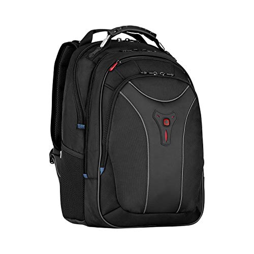 Wenger 600637 CARBON 17 Inch MacBook Pro Backpack, Padded Laptop Compartment with Case-Stabilising Platform in Blue {30 Litre}