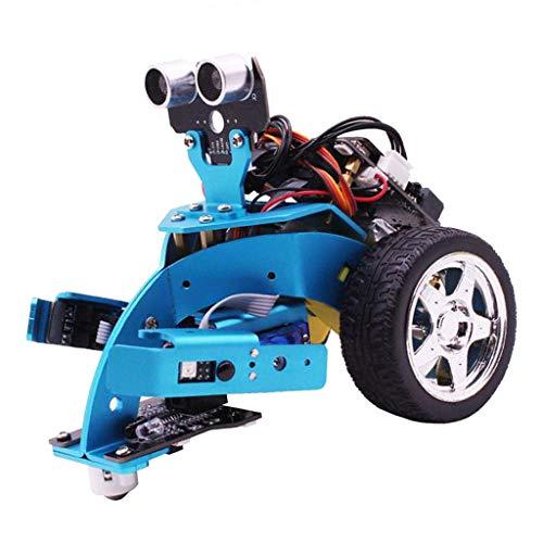 Amagogo Yahboom Microbit Smart Robot Car Kit Compatible con Programación Gráfica/Python