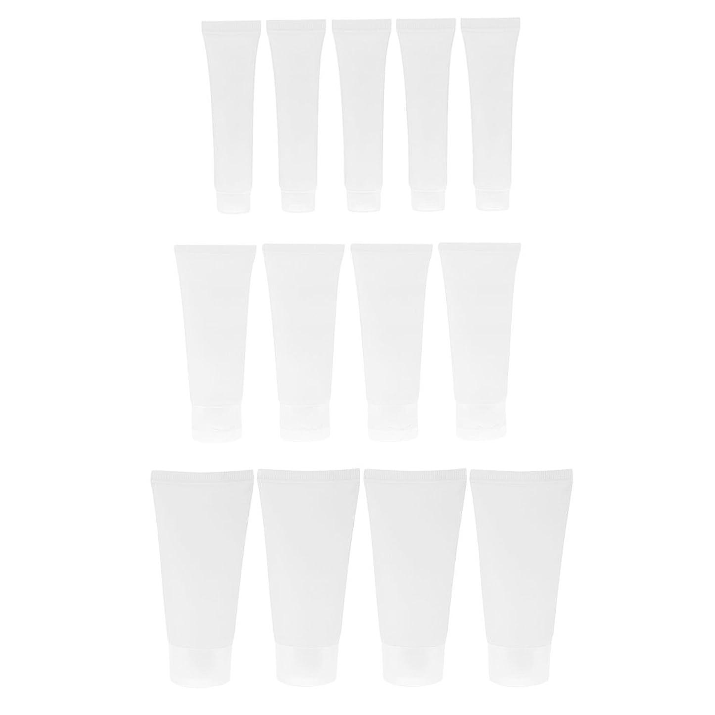 繕うモード剣Perfeclan 15個セット 15ml / 50ml / 30ml 空チューブ ハンドクリーム ローション ボトル 軽量