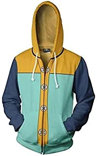 Men's Hoodie The Seven Deadly Sins King Cosplay Costume Halloween Nanatsu no Taizai Grizzly's Sin of Sloth Hoodie Jacket C...