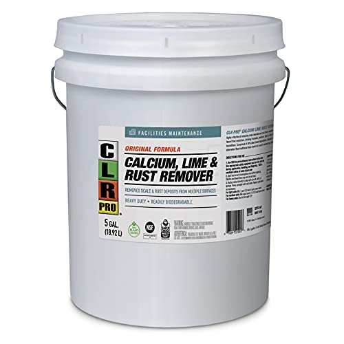 will clr remove rust from concrete