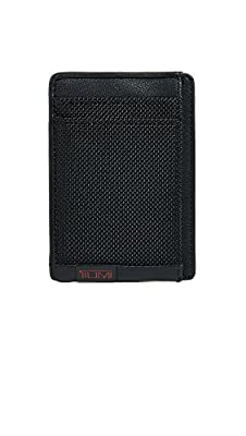 Tumi Men's Alpha Money Clip Card Case Wallet with RFID
