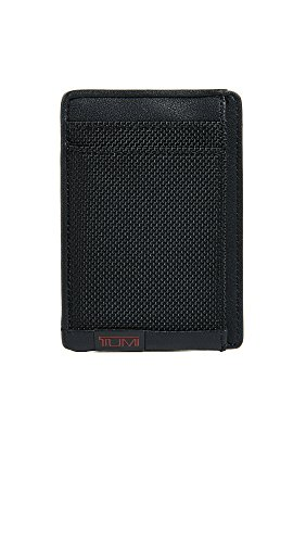TUMI - Alpha Money Clip Card Case Wallet with RFID ID Lock for Men - Black