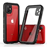 Compatible with iPhone 11 Case IP69K Waterproof, Full-Body Rugged Cases-Tight Dustproof,Shatter-Resistance,Built-in Screen Protector