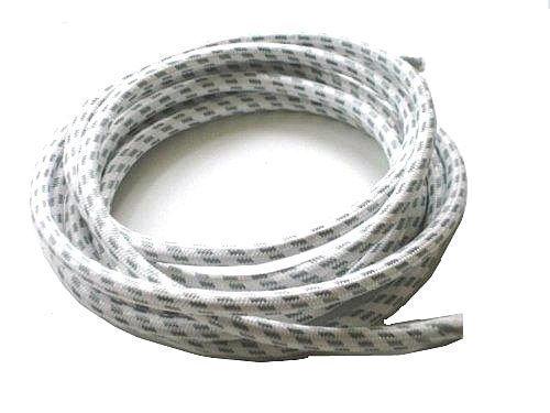 First4Spares 3 meter stoomstrijkijzer, katoen bedekte hittebestendige kabel Flex