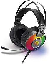 Headset Gamer Rgb G Pro H3+ 7.1, Fortrek, Microfones e Fones de Ouvido, Cinza