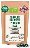 Spiruline Biologique Platinum Blue Premium: Une Bombe Nutritive & Ultra Boost d'Énergie – Format Économique de 2000 Comprimés (+500 Offerts) Résultats WOW d'Ici 9 Jours ou Remboursé + GRATUIT: 2500…