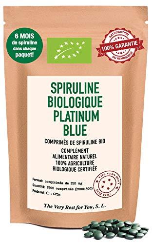 Spiruline Biologique Platinum Blue Premium: Une...