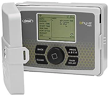 Orbit 57950 B-hyve Smart 12-Zone Indoor/Outdoor Sprinkler Controller Compatible with Alexa