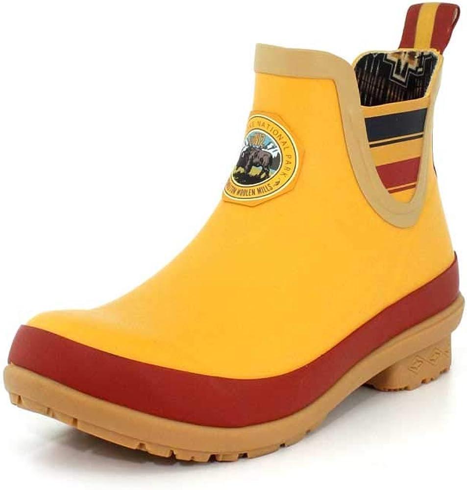 Pendleton Women's Heritage National Park Chelsea Ankle Length Slip-Resistant Rain Boot