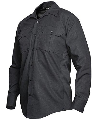 Vertx Hombres de f1vtx8120bkmediumxlong F1vtx8120BK tamaño Mediano XLong Phantom LT Manga Larga Shirt-Black, Hombre, F1VTX8120BKMEDIUMXLONG, Negro, Medium/X-Long