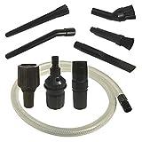 PakTrade Mini Kit de Boquillas para UFESA Mini Mousy, Volta U 400, U400, Zafir BS1500 (MBO), Majestic MVC 3600, MVC3600