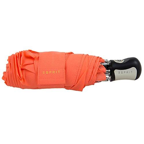 Esprit Easymatic 4-section coral peach 51571 Regenschirm Taschenschirm Schirm Schirme