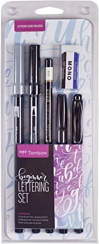 Tombow 56190 - Set di calligrafia per principianti Include tutto il necessario per iniziare a scrivere a mano