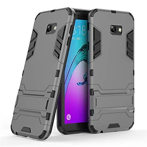 Chengxin para Samsung Galaxy J4 J6 Plus J8 2018, funda de armadura anticaídas a prueba de golpes para Samsung Galaxy J2 J3 J5 J7 2017 (color: gris, material: para J4 Plus 2018)