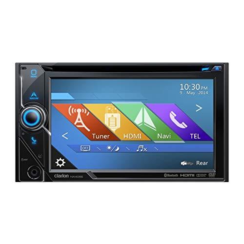 Clarion nx405ec dvd radio de coche multimedia, 2 din Navegador GPS con mapas de camiones caravana