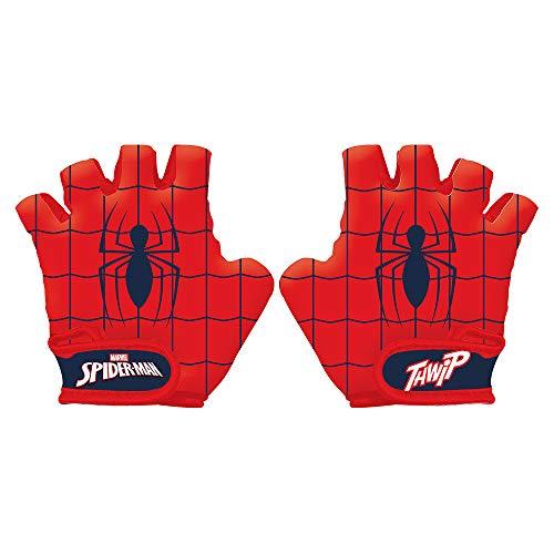 Disney Spiderman, Guanti da Bicicletta Bambino, Multicolore, Größe S (Handumfang ca. 15cm)