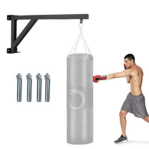 Liitrton Wall Mount Punching Bag Hanger Steel Boxing Heavy Bag Bracket Home Gym Training