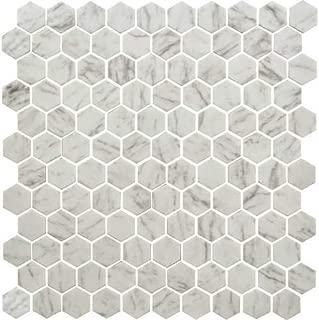 Dal-Tile 2420HEX1P-P009 Bee Hive Tile Ashgrey 24 x 20 Dal-Tile Inc 24 x 20