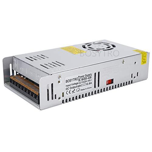 48V 12.5A 600W LED Fahren Schaltnetzteil Die Industrielle Netzteil Energieversorgung Motor Transformator Stromversorgung 220V AC to DC 48V