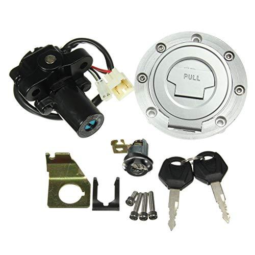 IPOTCH Llave Del Interruptor de Encendido Kit de Cubierta de Tanque de Tapa de Combustible de Gas Juego de Llaves de Bloqueo de Asiento para Yamaha
