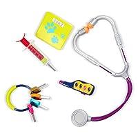 B. Toys- B. Pet Set Veterinario – Kit Medico per Il Gioco simbolico-per Bambini di 2 Anni in su (8 Pezzi), BX1229C1Z #1