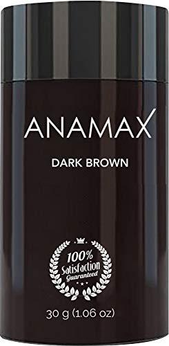 ANAMAX Hair Building Fibers - Dark Brown - 30 grams