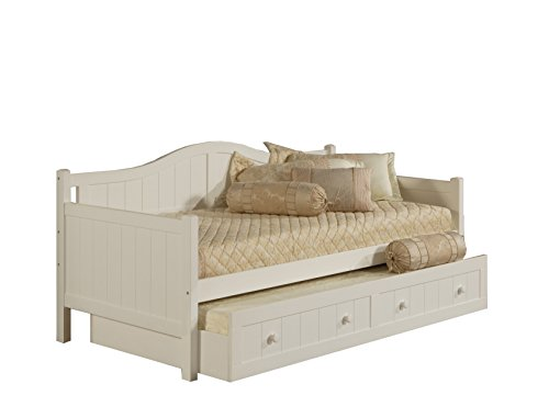Hillsdale Furniture Hillsdale Staci, White Daybed with Trundle,